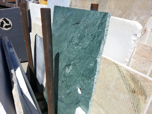 Blue/Green Marble Top