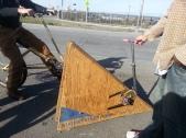 Woodenbikes.com Triangle Bike
